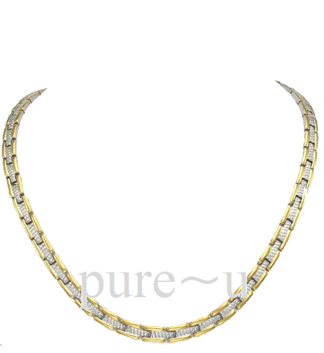 Track Style Necklace