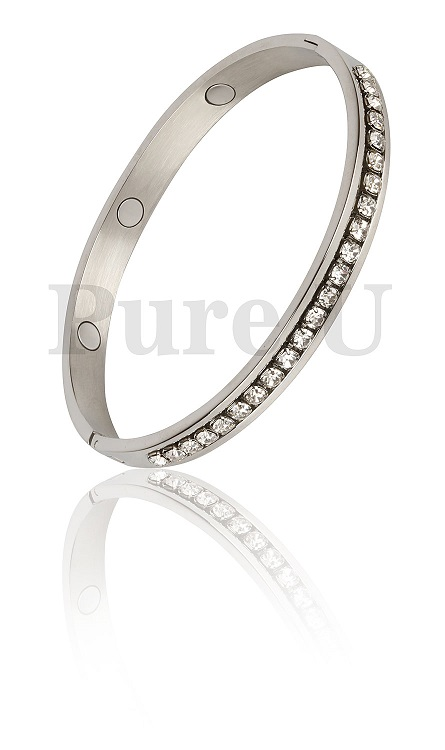 Diamanté Crystal Bangle