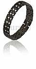 Gents-Black-Super-Magnetic-Power-Bracelet